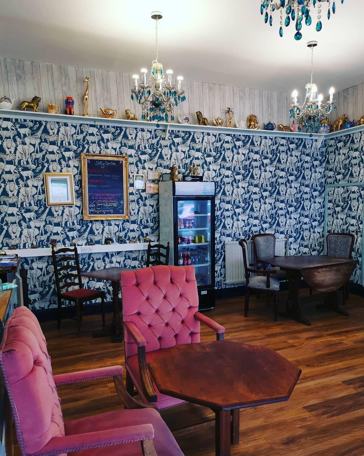 lion house tea room