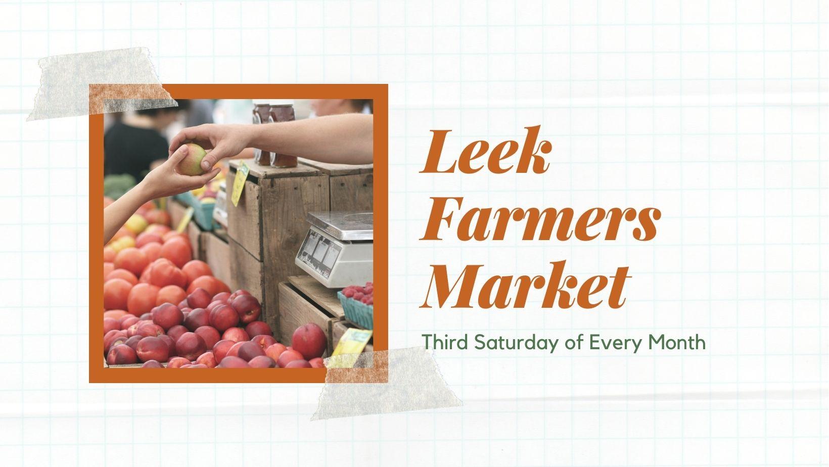 Leek Farmers Market