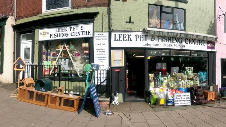 leek pet and fishing